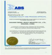 -----美国船级社认可证书( ABS )-----