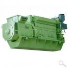 MAN 9L 32/40 generator set